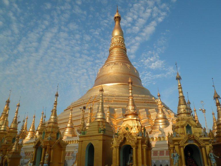 Práth Károly ázsiia utazás Burma Swegadon Pagoda