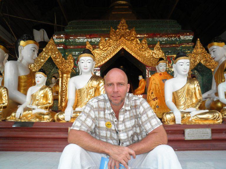 Práth Károly ázsiai utazás Burma Rangoon