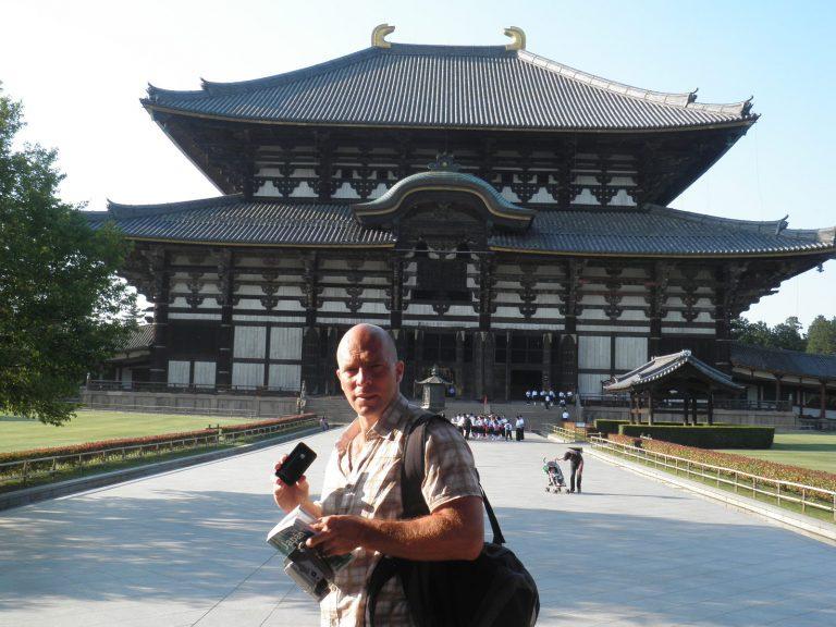 Práth Károly Japán utazás Nara