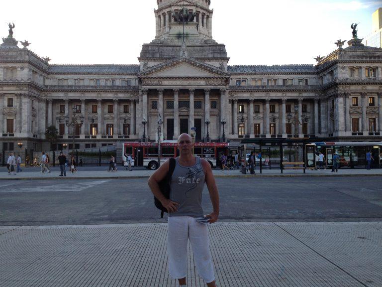 Práth Károly külföldi utazás Argentína Buenos Aires